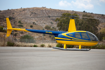 Private Helicopter Transfer: Santorini to Mykonos