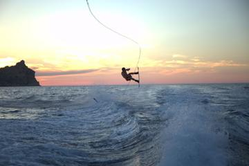 Private Ibiza Speedboat Cruise and Wakeboarding Experience