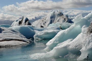 Private Jokulsarlon Lagoon and South Coast Tour