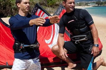 Private Kiteboarding Lessons at Kahana Beach Park