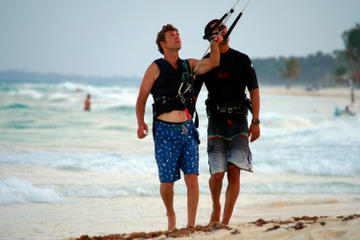 Private Kiteboarding Lessons in Tulum