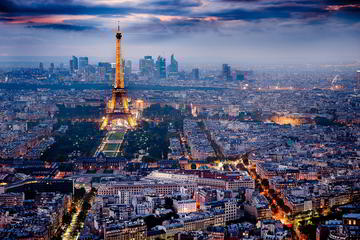 Private Luxury Transfer from Prague to Paris with Wi-Fi and Refreshment