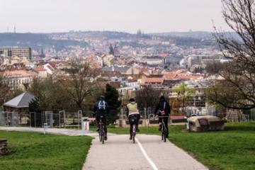 Private Off-The-Beaten-Path Tour of Prague By Bike