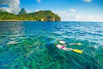 Private St Lucia Full Day Snorkeling Charter