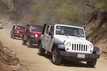 Private Tour: 4X4 Jeep Adventure from Los Cabos