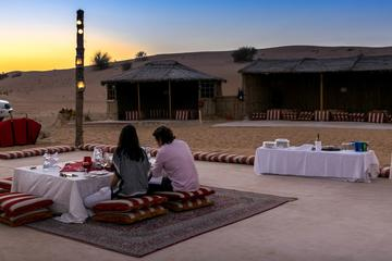 Private Tour: Abu Dhabi Romantic Desert and Dinner Experience for Two