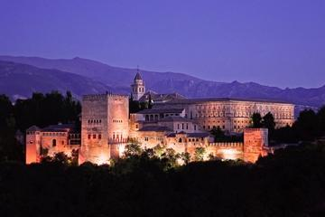 Private Tour: Alhambra at Night Including the Nasrid Palaces and Palace of Charles V