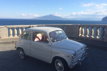 Private Tour: Amalfi Coast Day Trip from Naples by Vintage Fiat 600