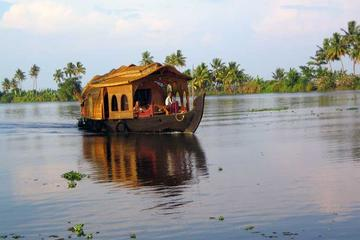 Private Tour: Full-Day Alleppey Houseboat and Sightseeing Tour including Transfer and Lunch