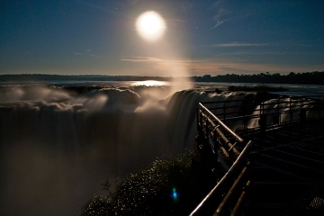 Private Tour: Full Moon Walks at Iguazú Falls