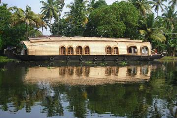 Private Tour: Kerala Deluxe Houseboat Backwater Day Tour in Alappuzha