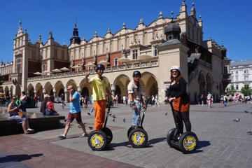 Private Tour: Krakow by Segway Including Old Town and Optional Visit to Podgórze