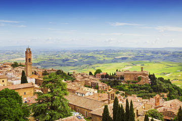 Private Tour: Orcia Valley to Montalcino and Montepulcaino with Brunello Wine Tasting