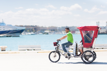 Private Tour: Rickshaw City Tour in Bari