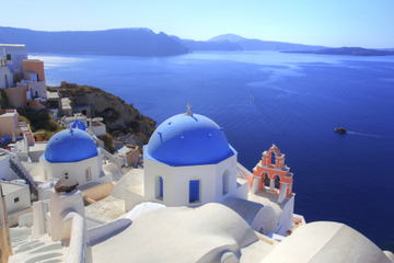 Private Tour: Santorini Sightseeing with Fira to Oia Hike