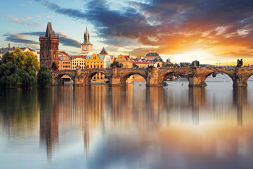 Private Transfer from Hallstatt to Prague with Wi-Fi free, refreshments and minibar