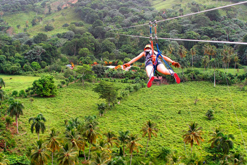 Punta Cana Extreme Swing and Zipline Adventure