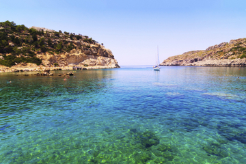 Rhodes East Coast Day Cruise with Faliraki Spa Trip