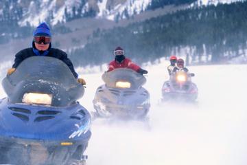 Rocky Mountains Snowmobile Tour