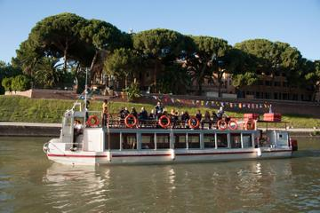 Rome Tiber River Cruise with Aperitivo