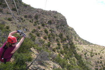 Royal Gorge Raft and Extreme Zip Tour Package