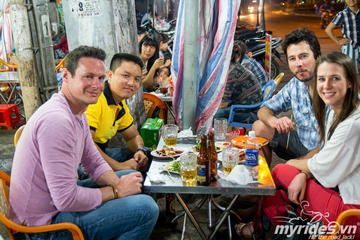 Saigon Food Tour by Motorbike