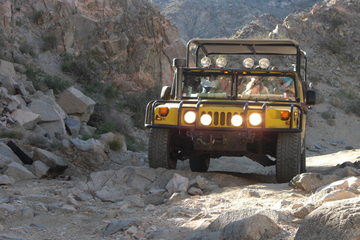 San Andreas Fault Hummer Tour