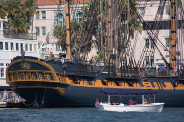San Diego Maritime Museum and USS Midway Bay Cruise