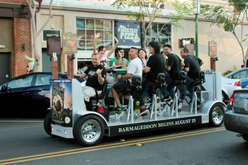 San Diego Scavenger Hunt by Party Bike