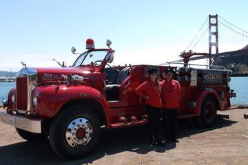 San Francisco Fire Engine Holiday Lights Tour