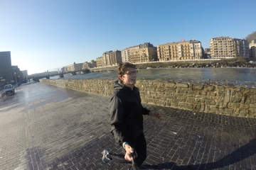 San Sebastian Sightrunning Tour: Run For Fun