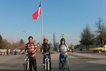 Santiago Panoramic Tour on Mountain Bike