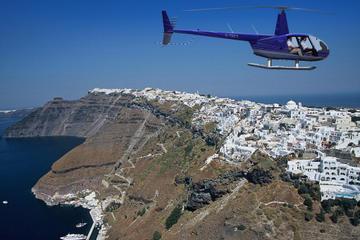 Santorini Helicopter Flight