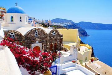 Santorini Private Guided Half Day Island Tour