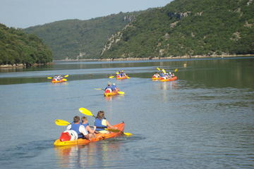 Sea Kayaking Adventure Lim Fjord Istria