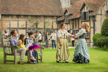 Shakespeare's Birthplace: 'Any 3 House' Ticket