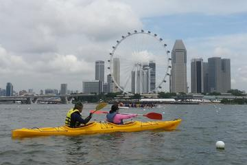 Singapore Kayaking Adventure: Singapore Flyer, Gardens by the Bay and Marina Bay Sands