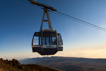Skip the Line: Tenerife Mt Teide Cable Car Round-Trip Ticket