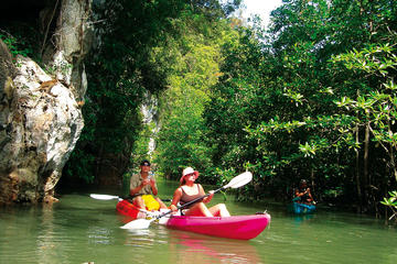 Small-Group Sea Cave Kayaking at Bor Thor from Krabi
