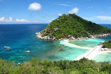 Snorkelling Trip to Koh Nangyuan and Koh Tao by High Speed Catamaran from Koh Samui