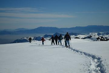 Snow Hiking in Farellones from Santiago