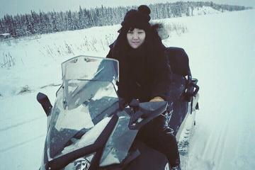 Snowmobile Tour from Yellowknife