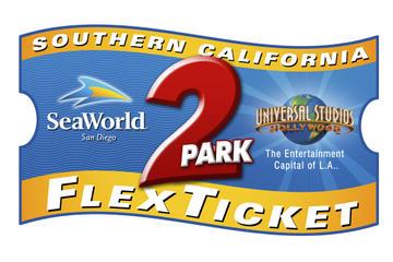 Southern California 2 Park Flex Ticket Seaworld And