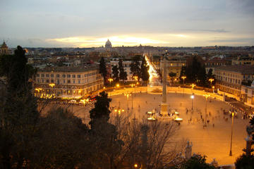 Squares of Rome at Sunset Small Group Tour