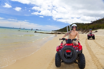 St Barts Independent Day Trip from St Martin with ATV Rental