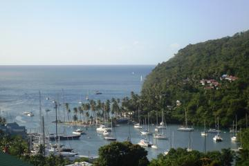 St Lucia Zipling, Beach and Rum Tasting Tour