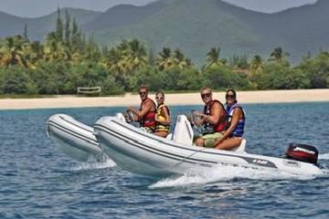 St Maarten Shore Excursion: Rock 'n Roll Snorkel and Sightseeing Safari of St Maarten