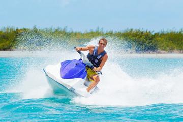 St Thomas Jet Ski Adventure: Hassel Island and Honeymoon Beach