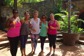 St Thomas Mimyasa Flow Yoga Class with Mimosas