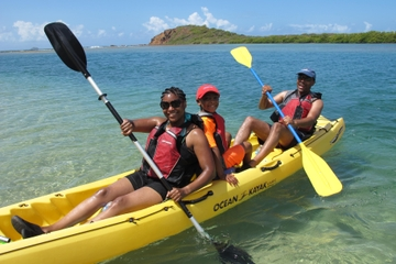 St Thomas Self-Guided Kayak Tour in Mangrove Lagoon with GPS Geocaching